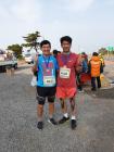 형제 나란히 4일 연속 풀코스 마라톤 완주 성공