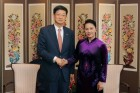 베트남 국회의장, CJ대한통운의 물류산업 추가진출 우회 요청