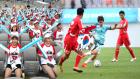 남북 노동자 통일축구대회 개최…3만 명 운집