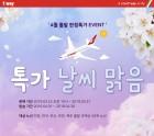 티웨이항공, 4월 국제선 다양한 한정 특가 운임 제공
