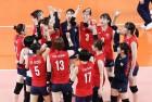 한국 여자배구, 23일 중국과 '미리보는 결승전' 조별리그 3차전