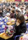 눈물과 함께… 하늘로 전해진 졸업장, 세월호 희생 안산 단원고 학생들 명예 졸업식