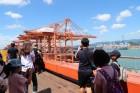다문화가정 어린이 현대상선 선박체험