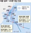 태풍 '솔릭' 23일 상륙 강한 비바람 예보