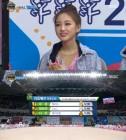 '아육대' 엘리스 유경 리듬체조 우승 '한국적 매력 선사'
