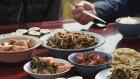 '한국인의 밥상' 최불암 - 게걸무·씨앗 기름·말랭이 김밥·전·등갈비찜·졸복 맑은 탕·순무 비늘김치·무청 김치·삼합 밤도라지무조림·무왁저지