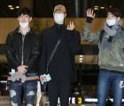 갓세븐 JB, 유겸, 진영 '공항 패션의 아이콘은 흰 마스크' (2018 MAMA)