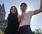 """'인종차별 당한' 배우 수현, 절친 에즈라 밀러 반응은? """"당신은 못 알아듣겠지만…"""""""