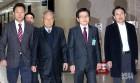 자유한국당 '당권주자 3인방' 캠프 전력 비교