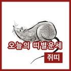 20일 쥐띠 일간 운세와 사주