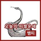 20일 뱀띠 행운의 숫자는 뭘까?