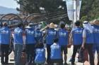 창원시의회 봉사단, 광암해수욕장 환경정화