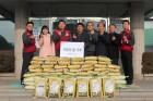 LG화학 노조, 오창읍에 사랑의 쌀 전달