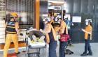 함평군, 승강기사고 대응 유관기관 합동 모의훈련 실시