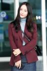 크리스탈, 가을을 머금은 공항 패션