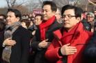 한국당 당권, 누가 쥐더라도 '첩첩산중'