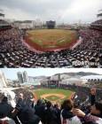 잠실·광주·사직·창원 4곳 매진, 인천만 관중석 못 채워…역대 개막전 최다관중