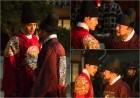 '왕이 된 남자' 여진구vs권해효, 살벌히 대치…숨막히는 기싸움