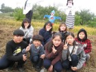 옥천동이초등학교 수확 벼베기체험