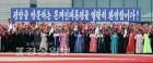 文·金 카퍼레이드에 평양시민 10만명 환영
