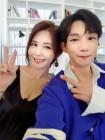 가수 '플레이제이', 배우 강예빈과 환상의 콤비 인증샷 공개