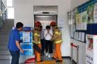 울진군, 안전사고 초기대응 위한 승강기 사고대응 합동훈련 시행