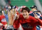"""""""이게 우승반지다!"""" 선수들 동기부여 김광현, SK 한국시리즈 우승 마침표 찍으며 에이스 투혼 빛내"""