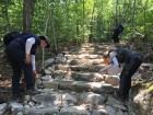 구미국유림관리소, 태풍 솔릭 등산로 피해 예방 안전점검