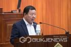 군산시의회 정길수의원, 화학재난 합동방재센터 설치 촉구