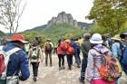 청송 유네스코 세계지질공원 트레킹, 외국인대상 '지역 우수 관광상품' 선정