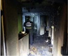 청주 용암동 아파트 화재, 독거노인 사망