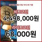 23일 가상화폐 대표 종목 하락… 비트코인 19시 37분 기준 시세 450만1000원