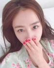 '마이크로닷♥' 배우 홍수현, 민낯 셀카로 청순미 과시해