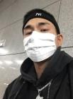 '대세남' 윤비, 마스크로도 가릴 수 없는 훈남 외모