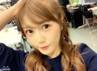 """AKB48 미야자키 미호, """"오랜만에 하프 포니테일 해봤어요"""""""