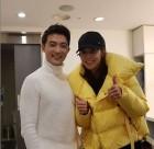 안재욱, 배우 소유진과 함께 찍은 사진 화제