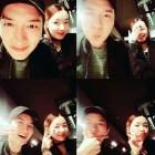 """인교진♥소이현 부부, """"비오는날은 고기R"""" 데이트 사진 이목집중"""