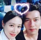 배우 손예진, 영화 '협상' 함께 출연했던 현빈과 귀여운 영상 '찰칵'
