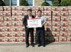 대일유통 박경서 회장, 인천 중구청에 라면 500박스 기탁