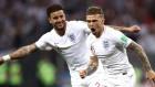 잉글랜드 VS 크로아티아 전반 주요장면… 트리피어 골