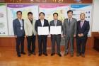 아산시 코오롱글로벌(주)와 선장일반산업단지 개발 업무 협약..