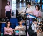 '강남미인' 차은우·임수향 영화관 데이트, 팝콘 먹다 스킨십 '두근두근'
