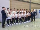 남북 카누 용선 단일팀, '원팀 원골' 필두로 금빛 물살 가른다(종합)