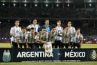 메시 없는 아르헨티나, 멕시코에 2-0 승리