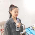 """에이오에이(AOA) 설현, 물 마시면서도 독보적 미모 과시…""""언닌 정말 최고야"""""""
