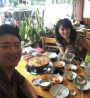 """홍지민, 남편 도성수와 다정한 셀카…""""오랜만에 부부 데이트"""""""
