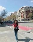 '그녀로 말할 것 같으면' 이시아, 바르셀로나에서의 일상…'끝없는 다리 길이'