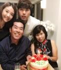 'LA 다저스' 류현진, 아내 배현진과 함께한 가족 행사…'단란한 가족 사진 눈길'