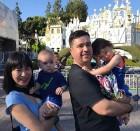 '슈퍼맨이 돌아왔다'(슈돌) 샘해밍턴, 아내 정유미-아들 윌리엄-벤틀리 훈훈한 가족사진 공개