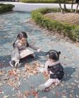 """인교진 아내 소이현, 가을 즐기는 두 딸 하은-소은 사진 공개…""""우리 두 공주"""""""